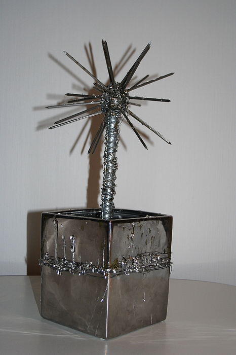 Future Flowers Sculpture by Stian Teige
