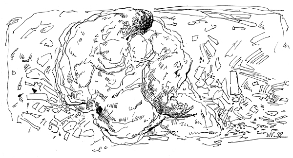 Altar Drawing - G 3 by Valeriy Mavlo
