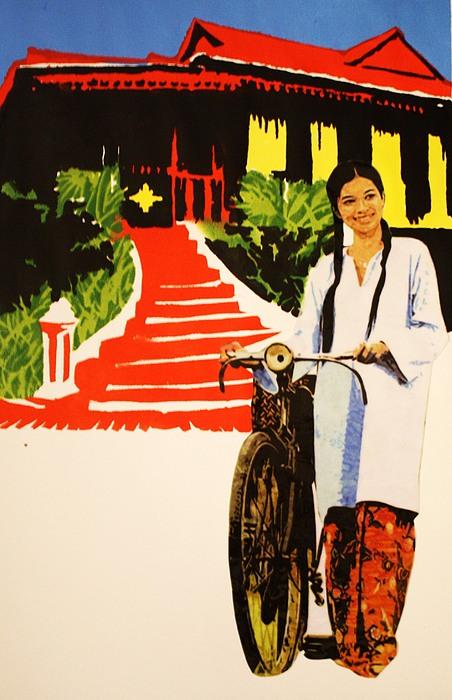 Painting - Gadis Kampung by Ezjwa  Sofiaz