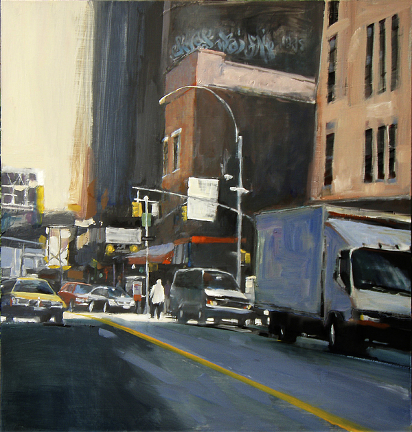New York City Painting - Gallery District by Patti Mollica