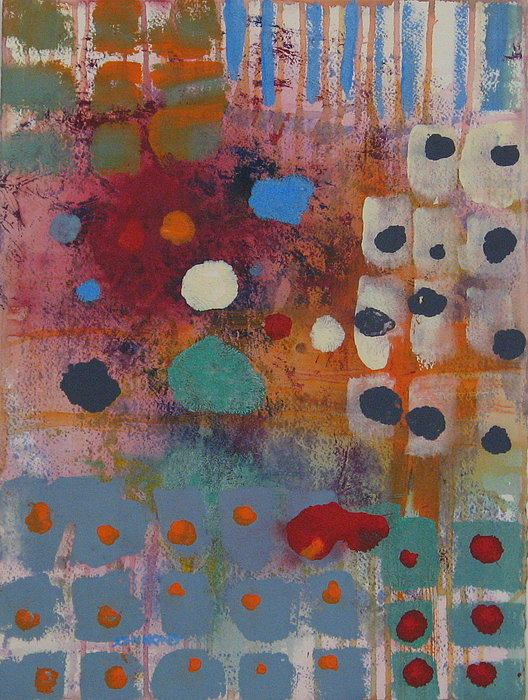 Abstract Painting - Games People Play by John Honey