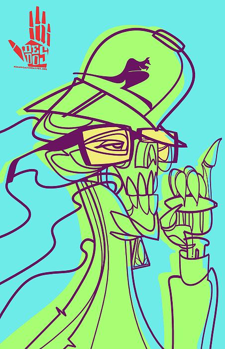 Weed Digital Art - Ganja Man by Nelson Dedos Garcia