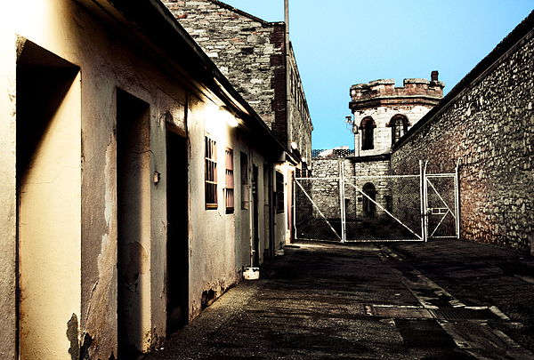 Old Photograph - Gaol by Kelly Jade King