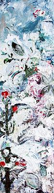 Birds Painting - Garden Of Birds 2 by Piret Rohusaar