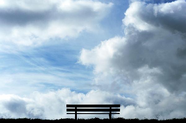 Garden Photograph - Garden Seat by Fabrizio Troiani