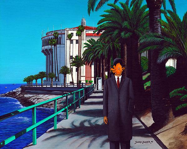 Catalina Painting - Gary Baldie by Snake Jagger