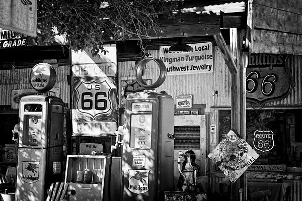2010 Photograph - Gas Station On Route 66 by Hideaki Sakurai