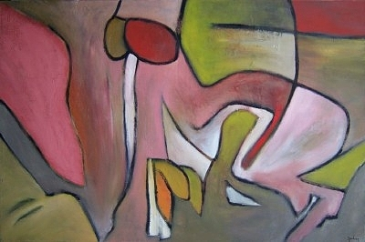 Abstract Painting - Gastrointestinal by Scott Spencer
