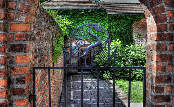 Cranbrook Photograph - Gate And Arch by Chris Fleming
