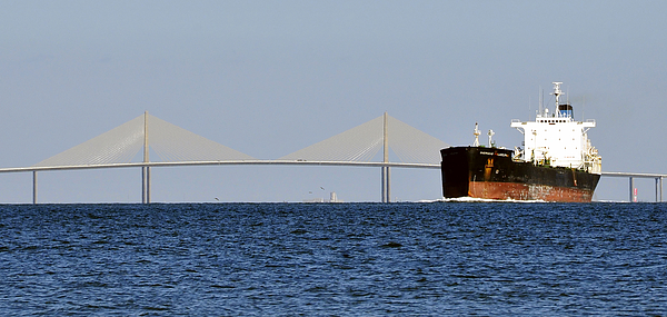 Panoramic Photograph - Gateway To Tampa Bay by David Lee Thompson