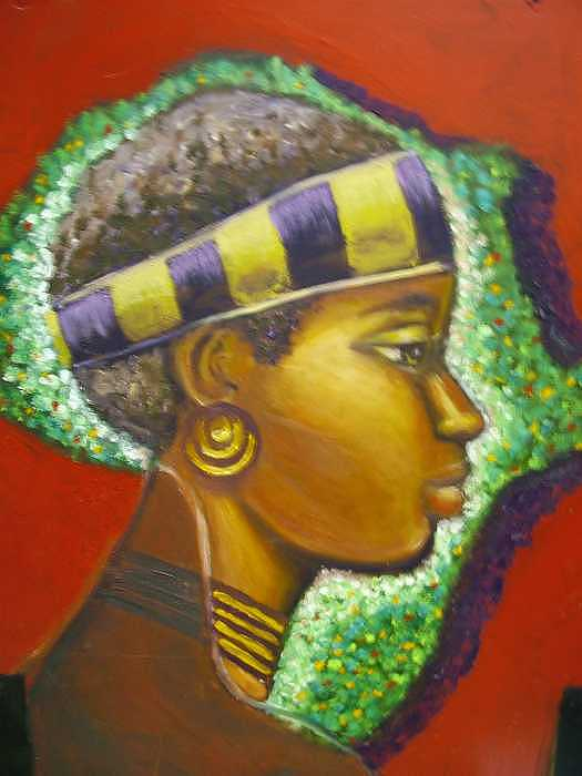 Gem Of Africa Painting by Jan Gilmore