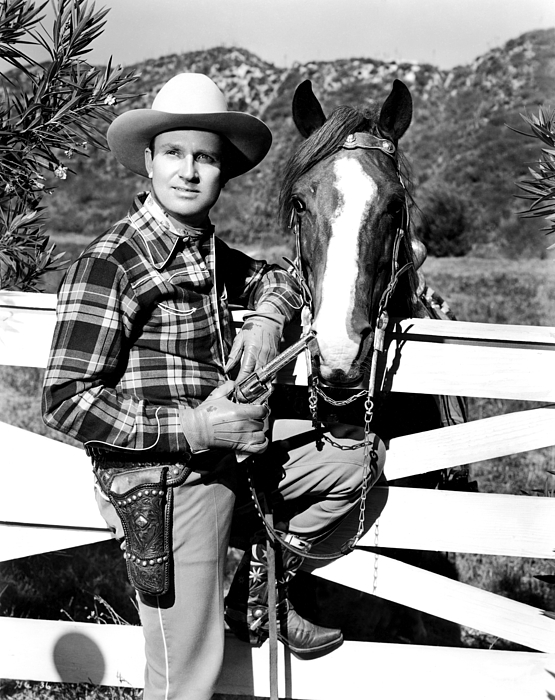 Autry Photograph - Gene Autry, Undated by Everett