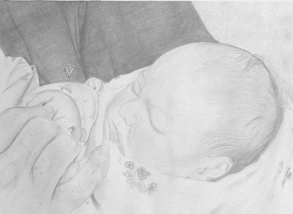 Child Drawing - Generations by Suzan Tisdale