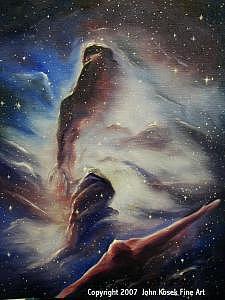 Genesis Painting by John Kosek