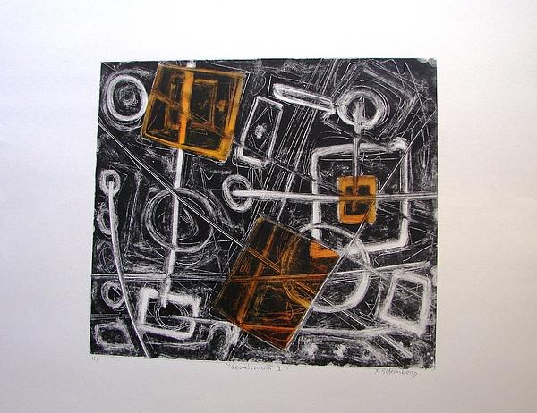 Mg3 Print - Geometrisation IIi by X Scherenberg