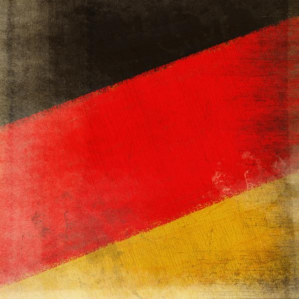 Chalk Photograph - German Flag by Setsiri Silapasuwanchai