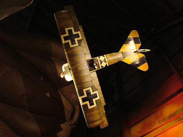 Usaf Museum Photograph - German Wwi Attack by Tommy Anderson