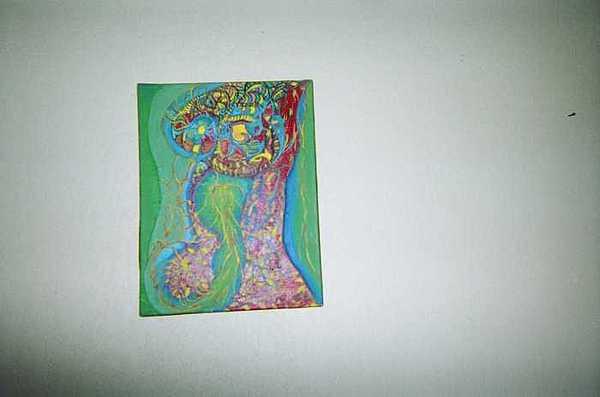 Gestacion Painting by Enrique Gonzalez