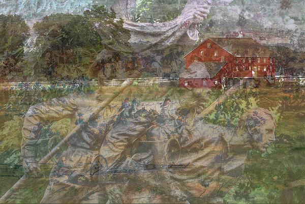 Army Of The Potomac Digital Art - Gettysburg Back In Time by Randy Steele