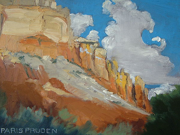 Ghost Ranch Painting by Nancy Paris Pruden
