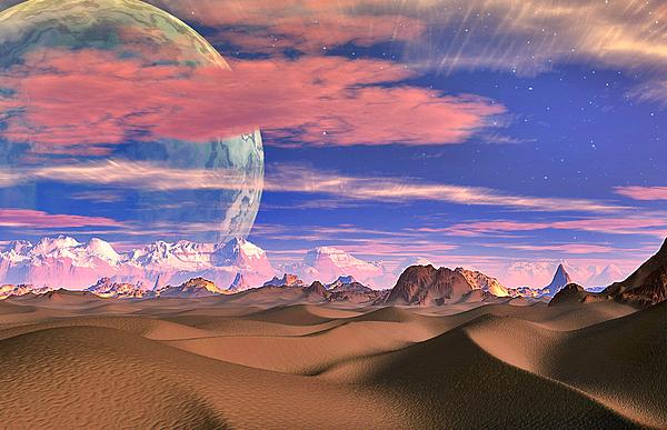 Ghost World Digital Art by David Jackson