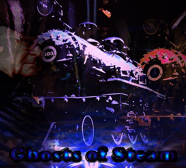 Trains Digital Art - Ghosts Of Steam by Michelle Dick
