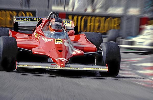 Gilles Villeneuve Photograph - Gilles At Long Beach by Mike Flynn
