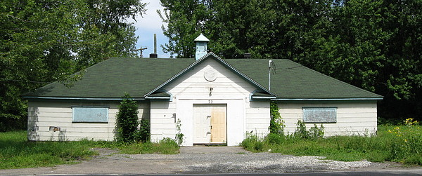 Rural Life Photograph - Gilmour Street Firehall by Richard Stanford