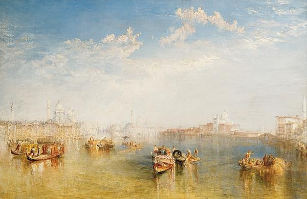 Boat Painting - Giudecca La Donna Della Salute And San Giorgio  by Joseph Mallord William Turner