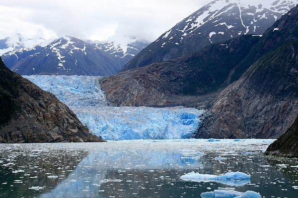 Glacier Photograph - Glacier by Shirin Shahram Badie