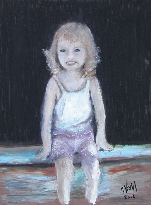 Girl Pastel - Glamorus by Miles Mulloy