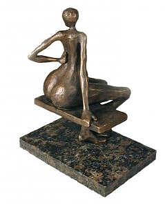 Glance Sculpture by Sandor Monos