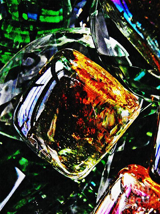 Glass Photograph - Glass Abstract 160 by Sarah Loft