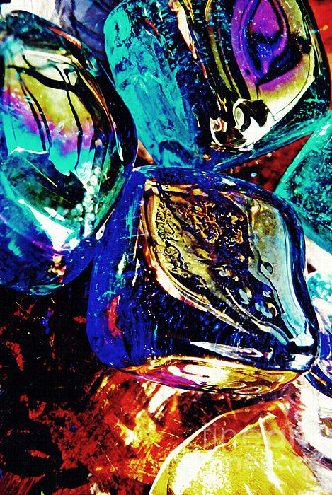 Glass Photograph - Glass Abstract 687 by Sarah Loft