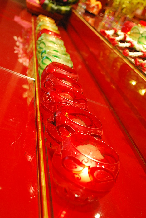 Red Photograph - Glasses by Susette Lacsina