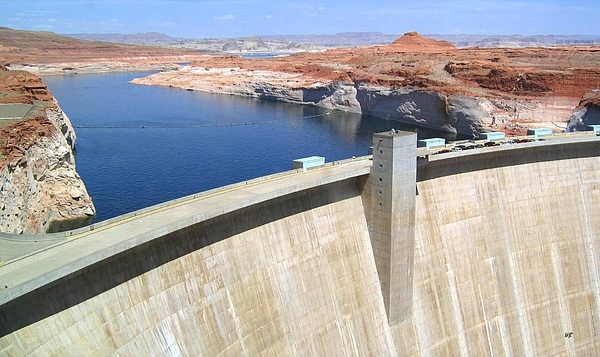 Glen Canyon Dam Photograph - Glen Canyon Dam by Will Borden