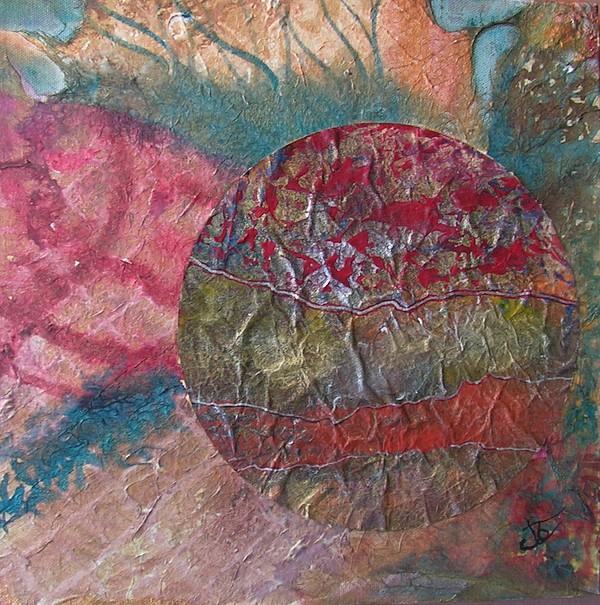 Abstract Painting - Global Series 1 by John Vandebrooke