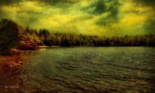 Landscape Painting - Glorious Sky by RC deWinter