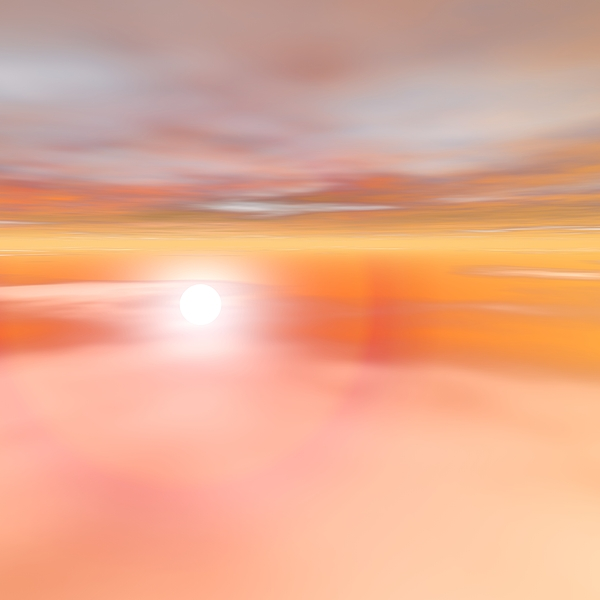 Sunrise Digital Art - Glorious Sunset View From The Plane by Taketo Takahashi