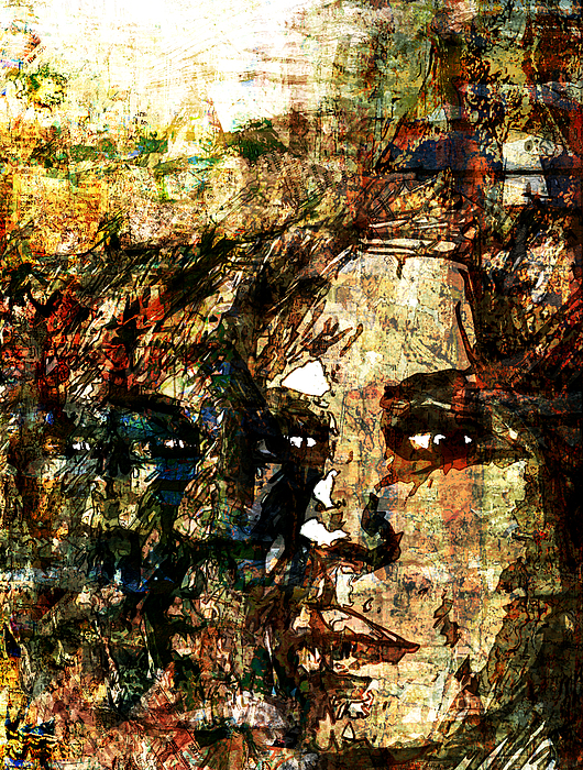 Collage Digital Art - Glory by Haruo Obana