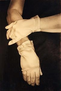 Hands Painting - Gloves by Candy Maley