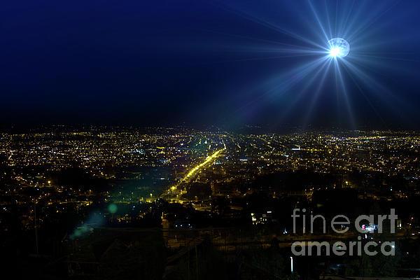 God Photograph - God Loves Cuenca by Al Bourassa