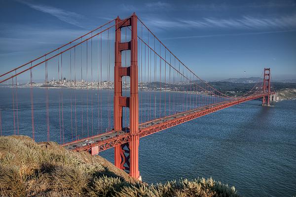Architektur Photograph - Golden Gate by Andreas Freund