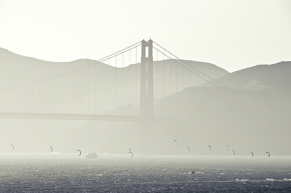 Golden Gate Bridge Photograph - Golden Gate Bridge by Paul Plaine