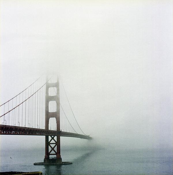 Vertical Photograph - Golden Gate Bridge, San Francisco, California by Tuan Tran