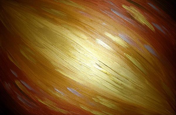 Original Painting - Golden Light by Daniel Lafferty