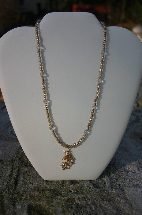 Gold Jewelry - Golden Unicorn by Shawna Dockery