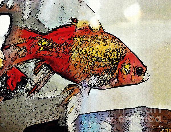 Goldfish Photograph - Goldfish by Sarah Loft