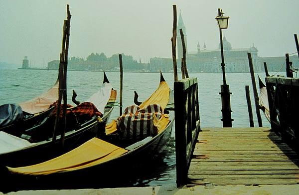 Venice Photograph - Gondolas by Ian  MacDonald