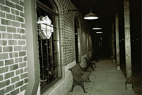 Night Time Photograph - Gone Home by Amy Strong